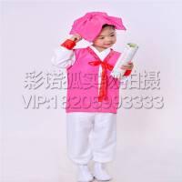 国学服装 书童演出服装 读书郎三字经表演出服装 弟子规六一儿童古装汉服