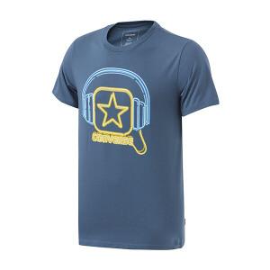 Converse匡威男装2017夏季圆领音乐节元素图案短袖T恤10003910