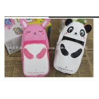 韩国文具盒文具袋 学生铅笔袋 熊猫兔子 可爱创意铅笔盒 大容量