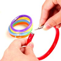 创意文具 手环圆珠笔 手镯卡通笔 手腕笔 创意圆珠笔 10g10g