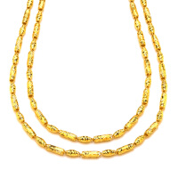 先恩尼黄金 足金项链 男士黄金项链 金饰品XZJA120903