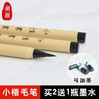 湖颖  软笔抄经笔钢笔式毛笔可加墨小楷书法笔签字笔速写笔美术笔软笔头