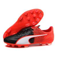 彪马PUMA男鞋足球鞋运动鞋足球evoSPEED AG胶质短钉人造草地10379201
