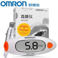 Omron/欧姆龙 血糖仪HEA-232 虹吸式家用测量高血糖仪器 随时随地检测 快速测量 小巧便携 中老年使用 操作简单 使用安全 为你的健康保驾护航