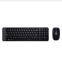 罗技(Logitech)MK220 无线光电键鼠套装 电脑usb无线办公键盘鼠标套件