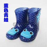 儿童雨鞋男童宝宝胶鞋萌物雨靴女童时尚防滑水鞋秋冬小孩幼儿水鞋防滑雨衣胶鞋