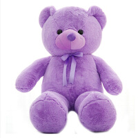 【全店支持礼品卡】新款紫色小熊毛绒玩具大号正版泰迪熊公仔紫色正品抱抱熊布娃娃玩偶生日礼物女生