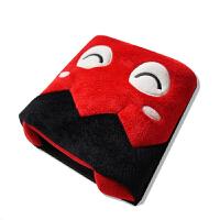 伊暖儿 USB暖手鼠标垫 摩登大嘴怪 电暖发热鼠标垫-红怪