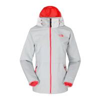TheNorthFace/北面 2U8X 女式防水透气冲锋衣 户外加绒可拆卸保暖外套 连帽运动外套