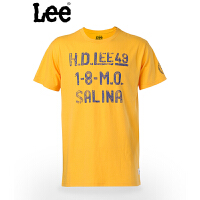 Lee 男士短袖T恤 青年款常规版型百搭T恤 8785-5S4P