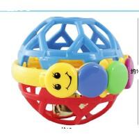 宝丽响铃健力球 婴儿铃铛手抓球 婴儿摇铃宝宝玩具0-1岁
