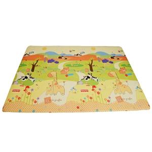 Fisher Price 费雪 爱你动物园舒美地垫、宝宝爬行垫 游戏垫 BMF25