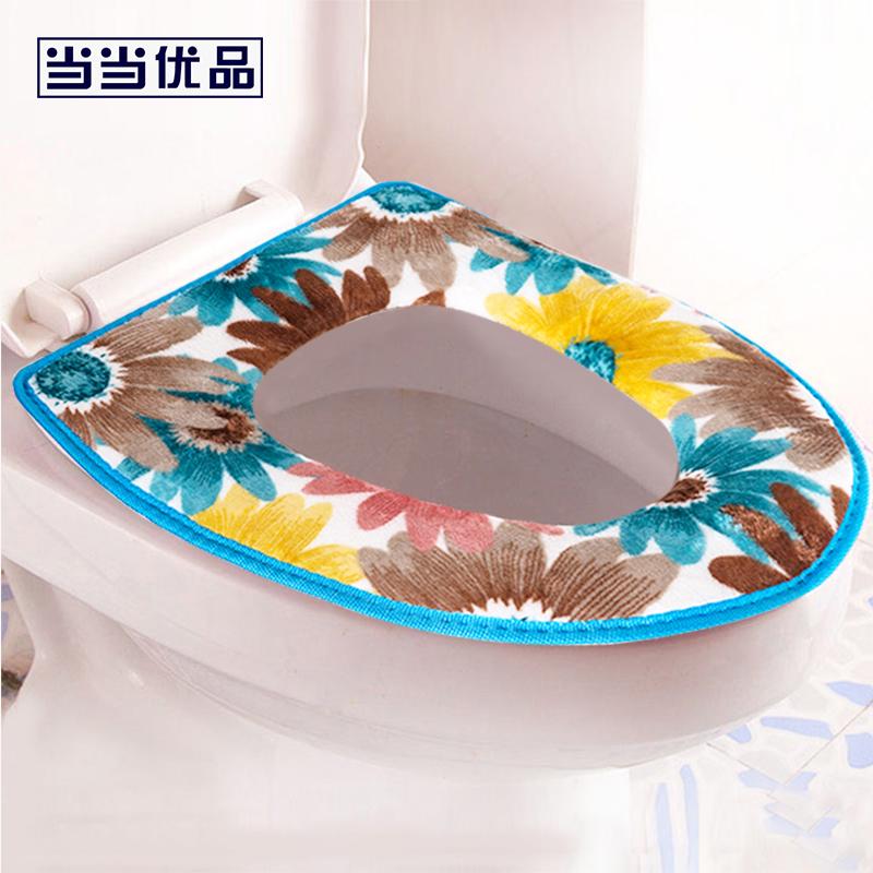 加厚保暖可水洗粘贴式马桶垫