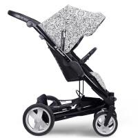 【当当自营】X-Lander Cite 高景观婴儿推车 单车版  印刷色