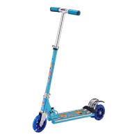 户外休闲可折叠大气铝三轮脚踏带背带铃铛滑板车