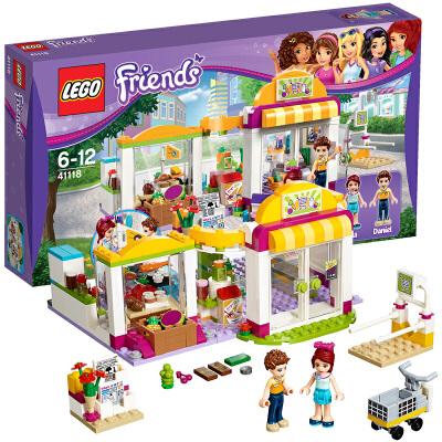 [当当自营]LEGO 乐高 好朋友系列 心湖城超级市场 积木拼插儿童益智玩具 41118【当当自营】2016年新品!适合6-12岁,313pcs小颗粒积木