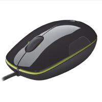 罗技LS1 有线激光鼠标 USB笔记本电脑鼠标 可办公游戏 水晶面设计