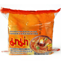 [当当自营] 泰国进口 妈妈MAMA 泰式冬荫浓汤虾味方便面(五联包)275g