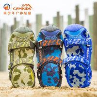 camkids小骆驼男童凉鞋2017新款夏季儿童鞋子包头凉鞋中童沙滩鞋