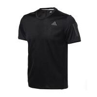 adidas阿迪达斯男装短袖T恤2017年新款跑步运动服BP7430