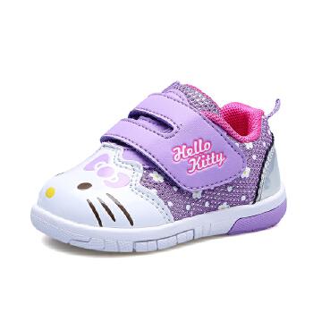 hellokitty女童运动鞋宝宝鞋子幼儿学步鞋儿童1-3岁