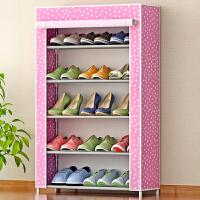 蜗家简易安装5层鞋橱 鞋架 收纳箱 收纳盒   防潮储物柜 收纳柜 柜子 防尘鞋柜05C