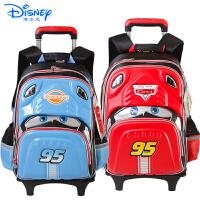 Disney迪士尼汽车总动员拉杆包小学生1-6年级卡通拉杆双肩书包RB0037