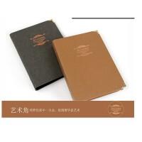daoLen道林课堂笔记事本子复古怀旧牛皮/活页本 艺术角B5-100页