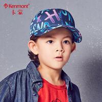 6-9岁儿童帽子春秋纯棉棒球帽户外出游小男孩字母鸭舌帽夏天遮阳4744