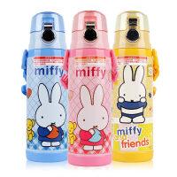 米菲不锈钢真空保温杯450ml 直饮杯MF-3415迪士尼儿童水壶