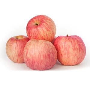 【山东特产】烟之星 正宗山东栖霞红富士苹果80#果 10斤包邮