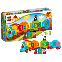 【当当自营】LEGO 乐高 DUPLO得宝系列 数字火车 积木拼插儿童益智玩具10847