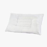 当当优品 纯棉贡缎羽丝绒可水洗枕 枕芯枕头 48*74 白色