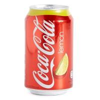 香港进口 Coca-Cola with Lemon 柠檬味可口可乐 330ml*8罐(件)