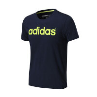 夏 adidas阿迪达斯NEO男装短袖T恤运动服AJ7540