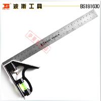 波斯工具 铝合金组合角尺30cm BS181630