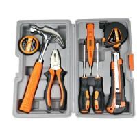 圣德保罗SD-007-C 家用维修多功能五金工具箱套装9件精工锻造