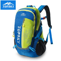 topsky 户外骑行包双肩背包男女旅行徒步野营登山包