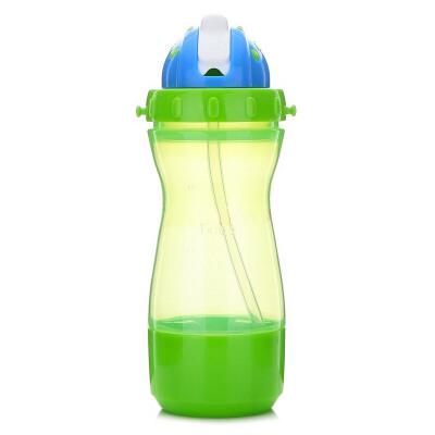 【当当自营】乐儿宝(bobo) 乐乐多功能杯400ml 果绿色储物盒BB306B-G 水壶/水杯/吸管杯 新老货号更替中,随机发货