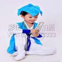 读书郎三字经表演出服装 书童演出服装 国学服装 弟子规六一儿童古装汉服