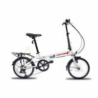 自由人1.0折叠自行车儿童车自行车14寸7S儿童折叠自行车折叠车变速车学生男女