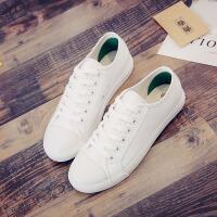 环球港风女鞋街拍小白鞋女夏季2017新款百搭韩版休闲学生平底板鞋