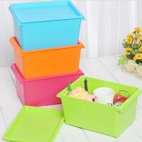 卡秀小号多用途桌面收纳箱整理箱/化妆箱/美容工具箱 颜色随机
