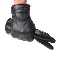 男士 冬季手套男式摩托车 短款手套