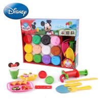 【满99减10】Disney/迪士尼 3d彩泥儿童无毒 橡皮泥粘土玩具套装幼儿园手工泥环保益智 补充装