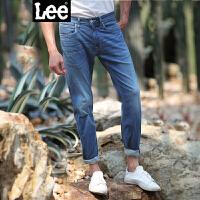 Lee男装 商场同款2017春夏新品中腰小直脚牛仔裤潮L127262HV4LX