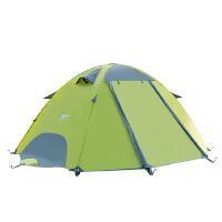 帐篷户外双人双层野外情侣露营帐篷防雨沙滩野营套装装备