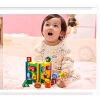 游家儿童形状配对婴儿积木玩具 3岁以下0宝宝玩具1-2岁智力盒