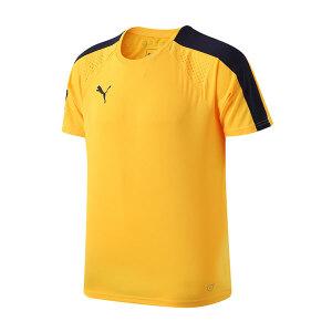 彪马PUMA男装短袖T恤2017夏新款运动服足球训练服LOGO款65524457