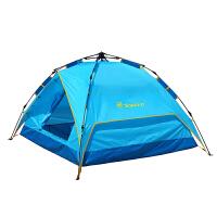 探路者TOREAD户外帐篷3-4人全自动多人免搭建速开防风透气TEDC90663